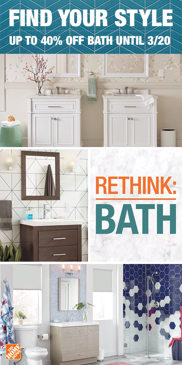 The home depot has unique styles and products for every dream bathroom create  also rh pinterest