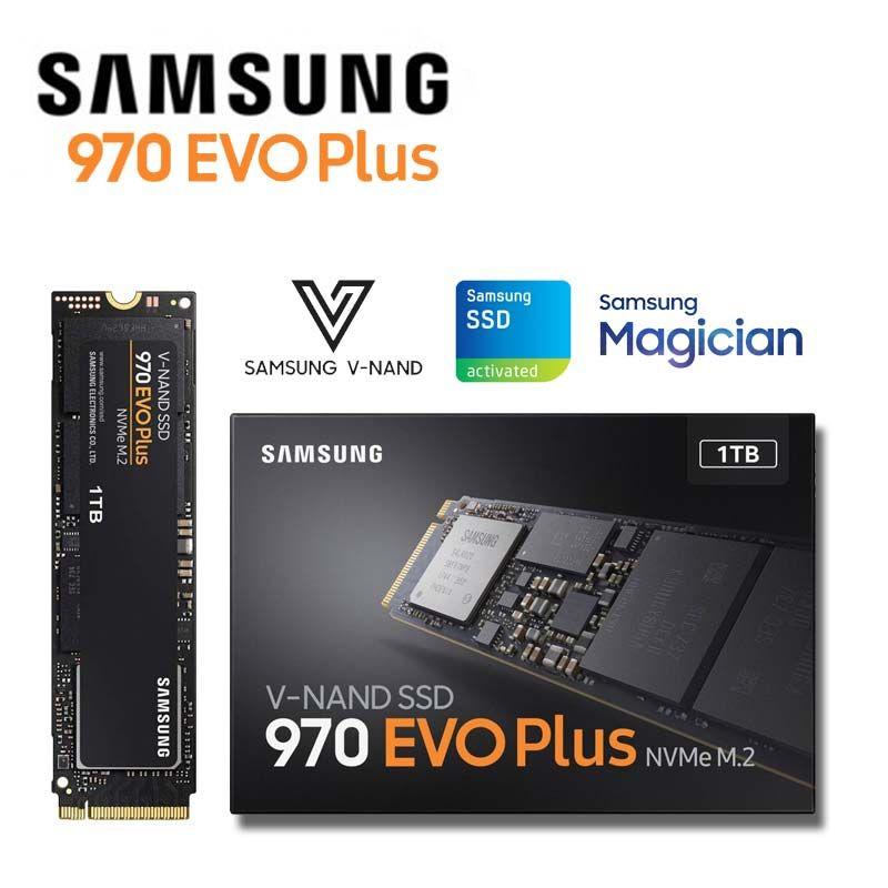 Samsung Nvme Ssd 1tb M 2 V Nand High Performance Internal Solid State Drive M2 2280 Pcie 3 0 Mlc 970 Evo Plus 250gb 500gb In 2020 Daily Deals Samsung