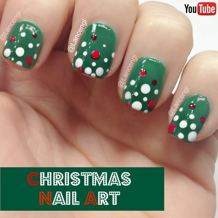 Nice Easy Christmas Nail Art For Short Nails Sephora Video
