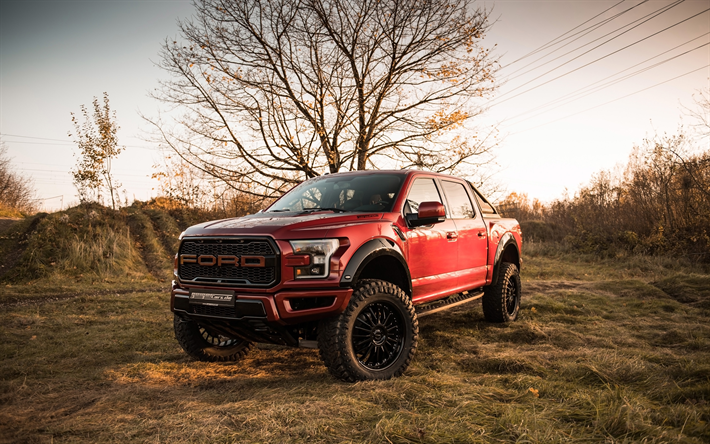 Download Wallpapers Geigercars Tuning Ford F 150 Raptor Pickups