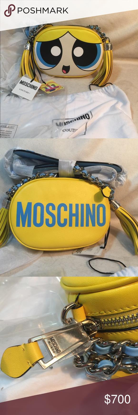 df1bcec87e Moschino Powerpuff Girls Bubbles crossbody SALE!! Multicoloured leather  'Powerpuff Girls' Bubbles crossbody bag from Moschino featuring a rounded  shape, ...