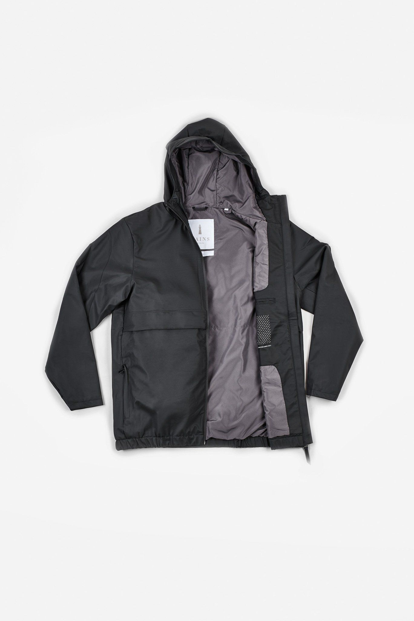 Free Jacket is our sporty interpretation of a transitional rain ...