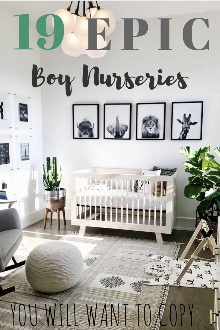 19 Best Boy Nursery Ideas - Chaylor & Mads