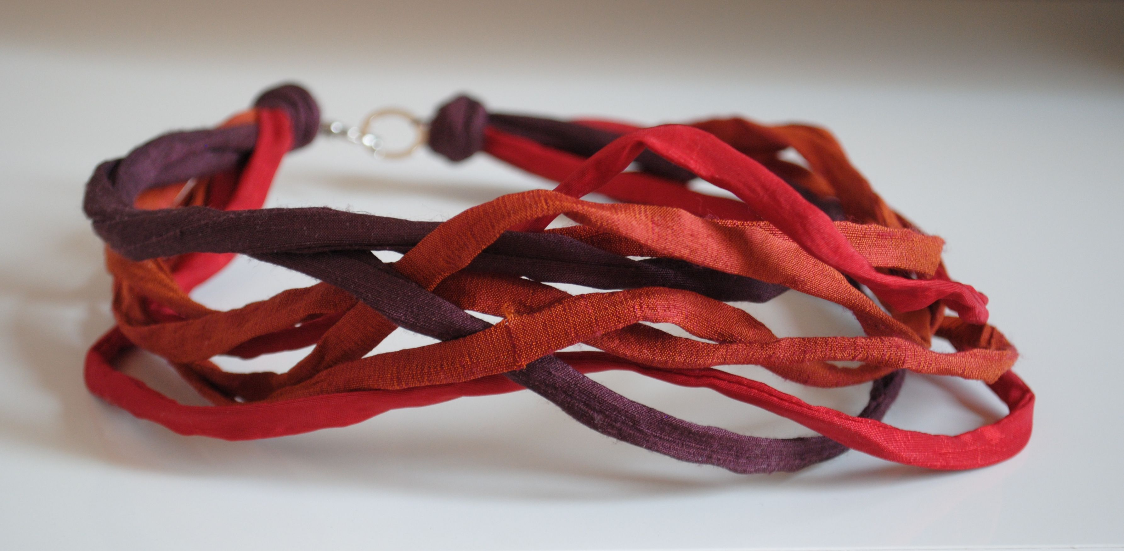Multicoloured Strands - Material Atelier Necklace http://www.materialatelier.com