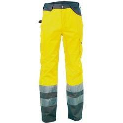 Cofra® Herren Warnschutzhose Ray gelb Größe 44 CofraCofra