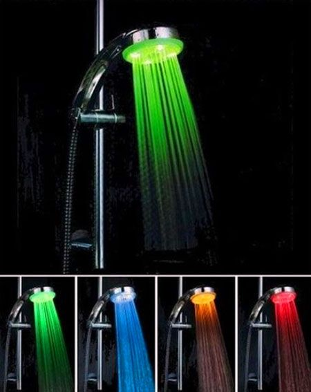 Colored Shower Color Changing Led Amazing Showers Led Shower Head