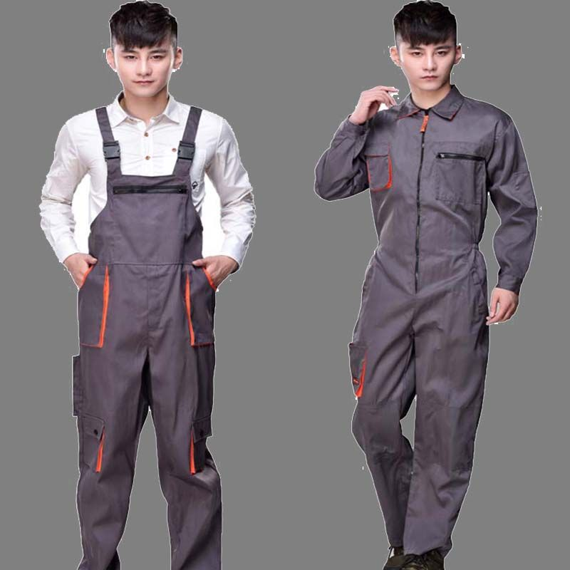 work overalls men women protective coverall repairman on men s insulated coveralls cheap id=77714