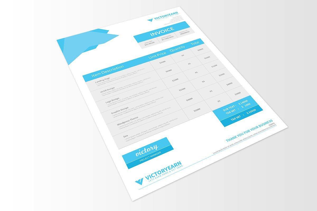 Free Invoice Template Psd Invoice Design Invoice Design Template Invoice Template