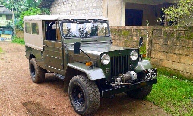 Jeep For Sale Sri Lanka: Srilankan Mitsubishi Jeep