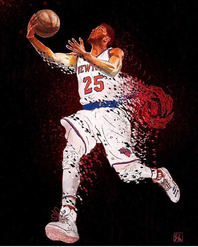 (via @ymhuang_illustration) #DerrickRose #knicks #knickstape #knicksnation #knicksfan #knicksallday #newyork #nyknicks #newyorkknicks #nyk