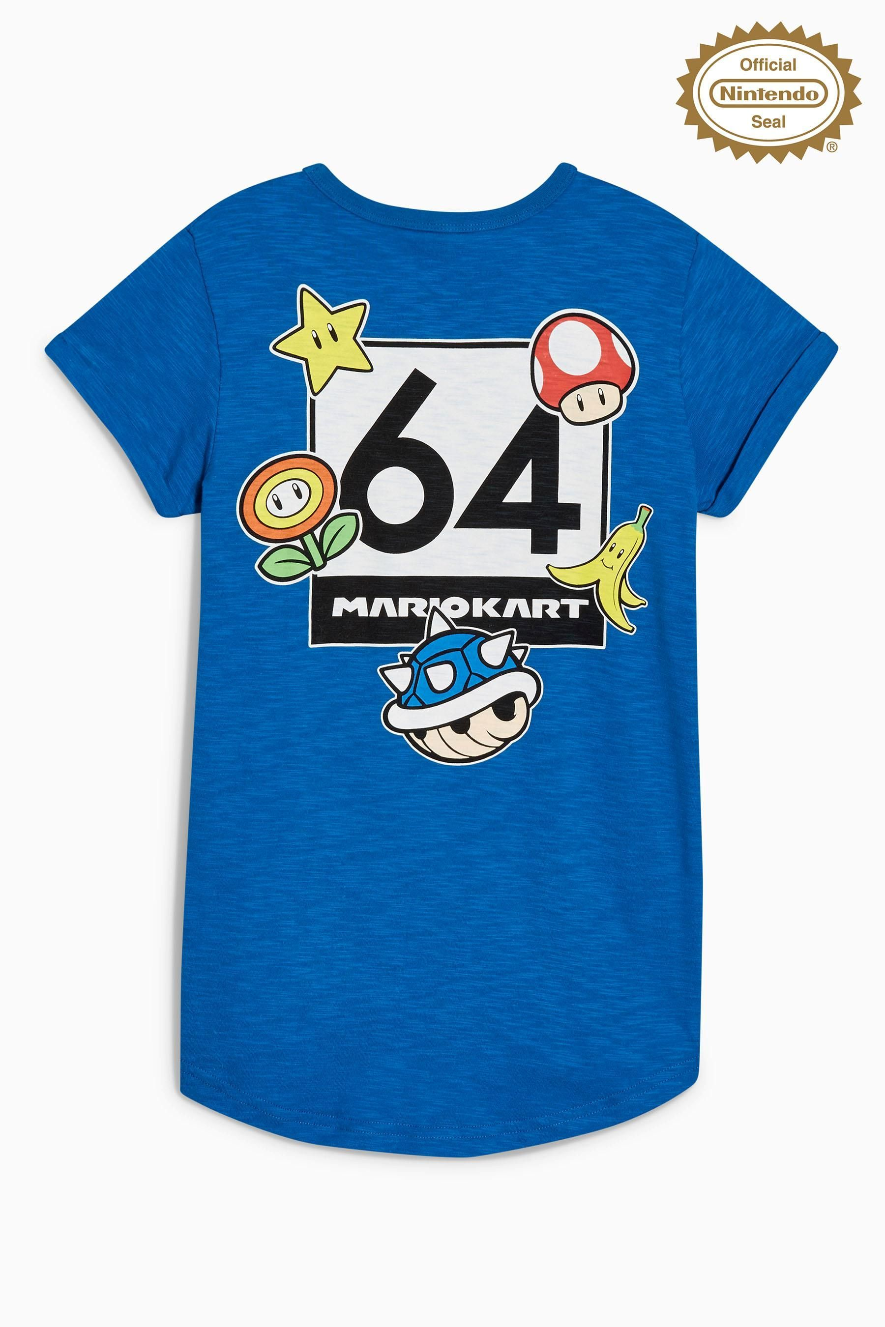 195f80817 Buy Blue Mario Kart T-Shirt (3-14yrs) from the Next UK online shop ...