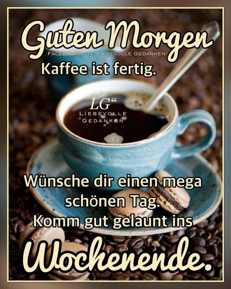Moin Kaffee Guten Morgen Kaffee Lustig Guten Morgen