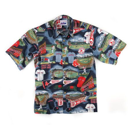 Reyn Spooner Boston Red Sox Hawaiian shirt  16b095b22