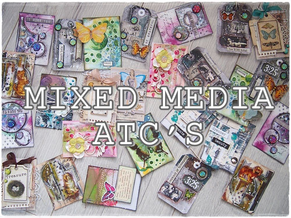 If you havent tried ATC's, this video is an absolute must. Marta from Maremi SmallArt is an amazing teacher and gives so much info and inspiration for newbies to learn. Be sure to check her YouTube channel for more on art journaling, mixed media and gorgeous card tutorials. <3
