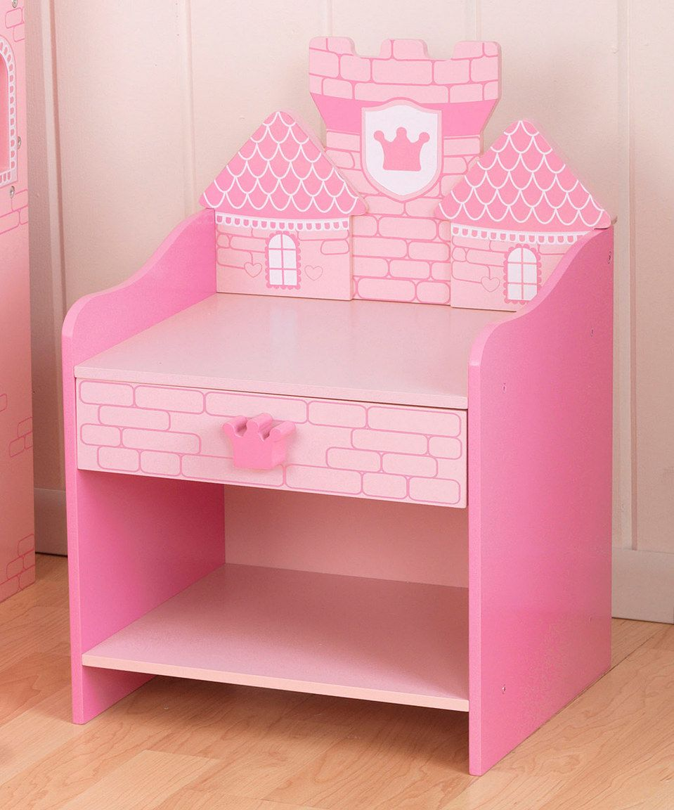 This KidKraft Princess Castle Toddler Side Table By Is Perfect Zulilyfinds