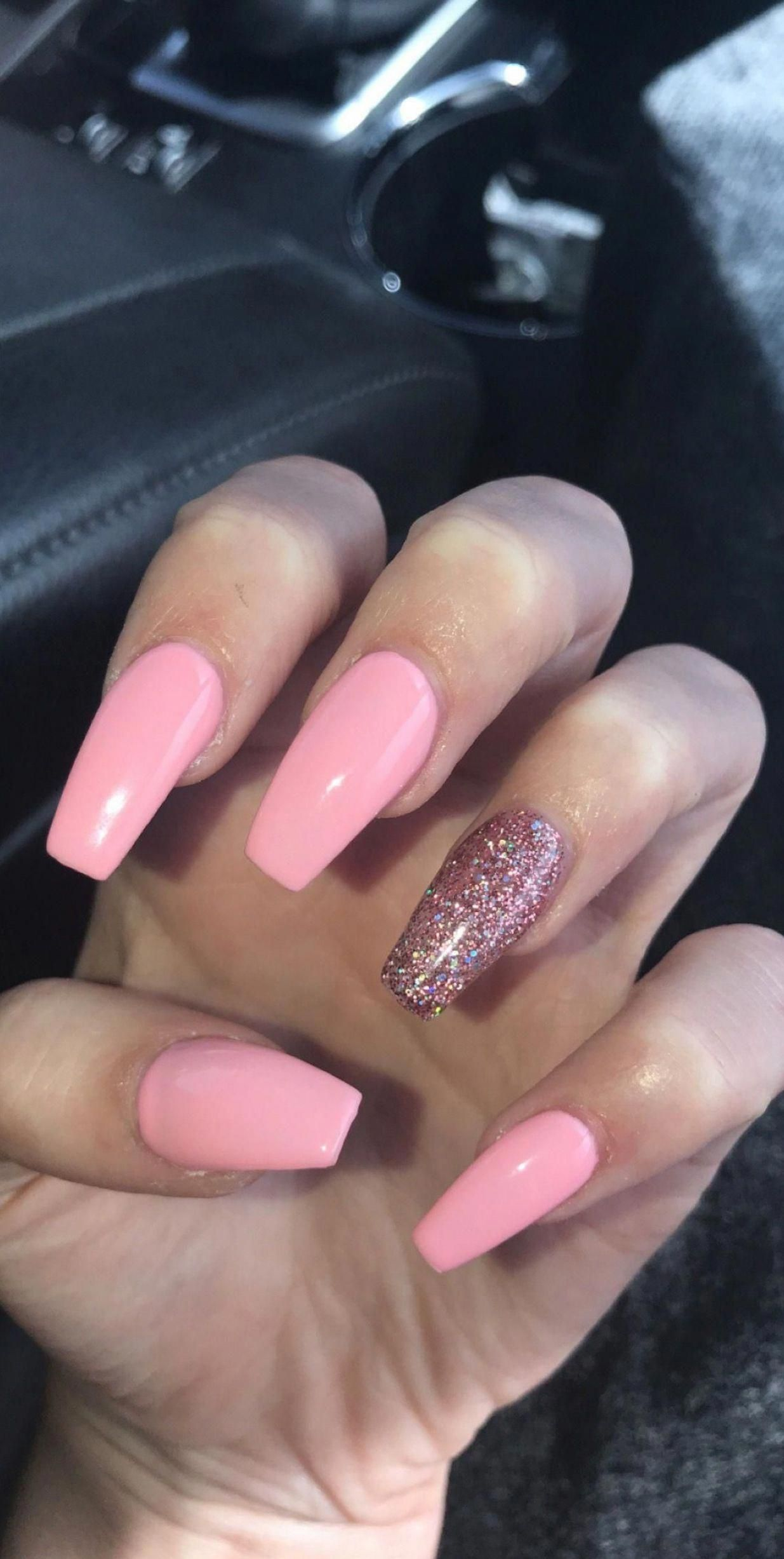 Gel Nails The Difference Between Three Phase And Single Phase Gel In 2020 Pink Acrylic Nails Best Acrylic Nails Ombre Acrylic Nails