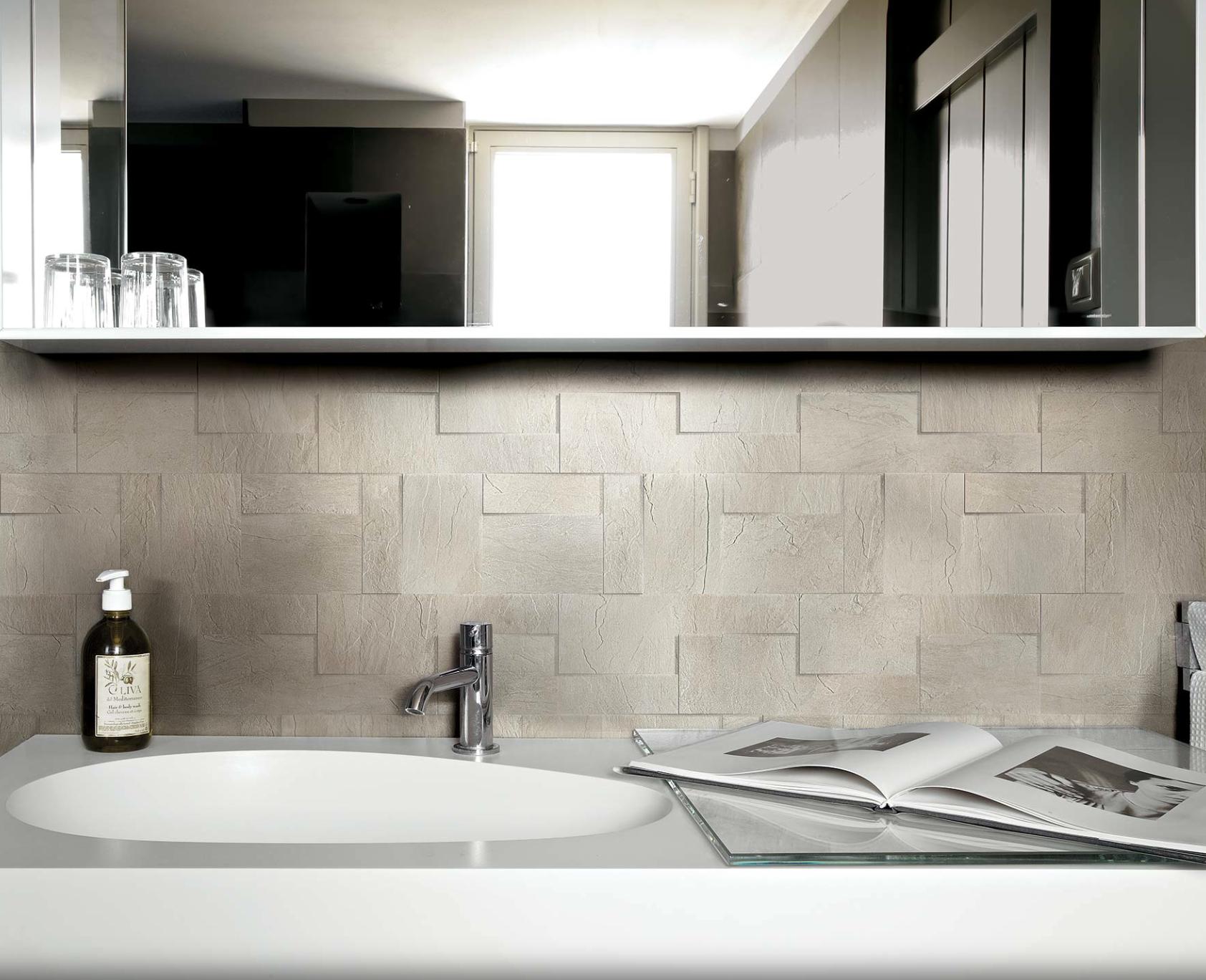 Rex - iClassici Ivorie matte modulo muretto 30x30 | Bathrooms ...
