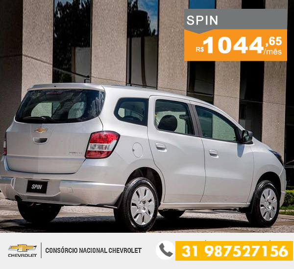 Consorcio Chevrolet Spin Lt 1 8 O Chevrolet Spin E A Minivan Ideal