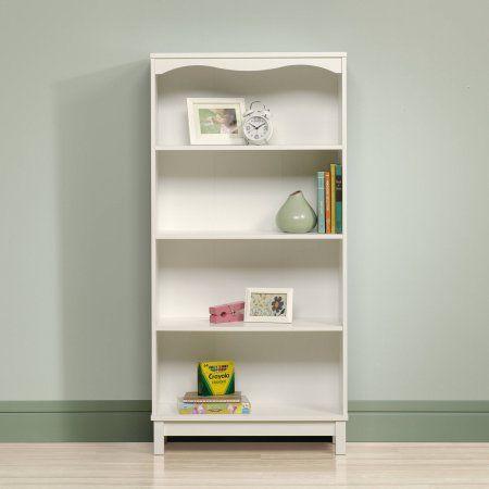 Buy Sauder Storybook Bookcase Soft White At Walmart