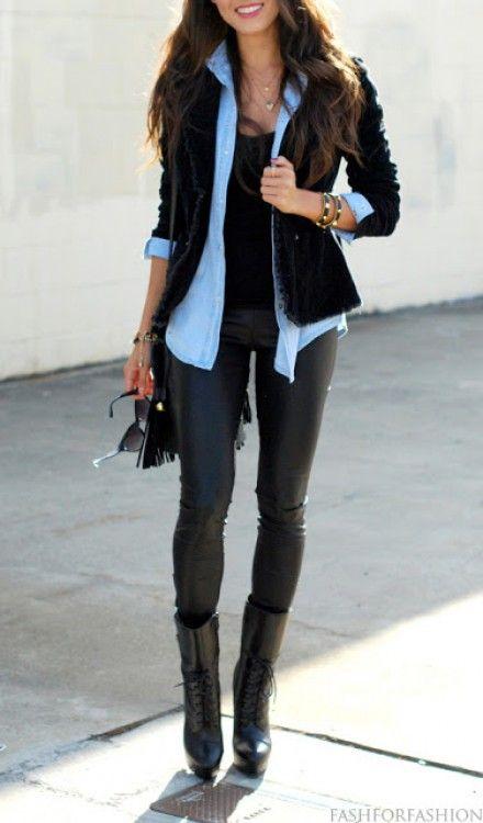 fbb6e4fa6aa Leather pants