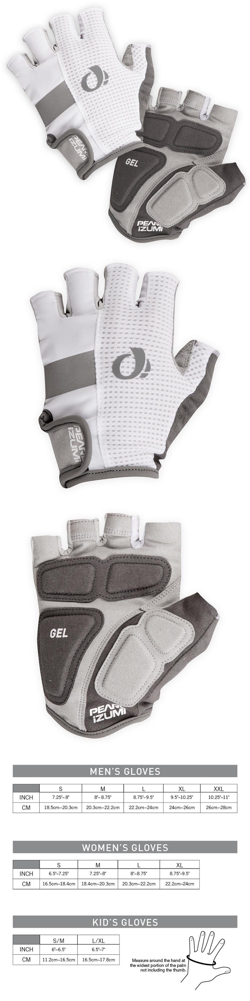 Gloves new pearl izumi men s elite gel gloves half finger