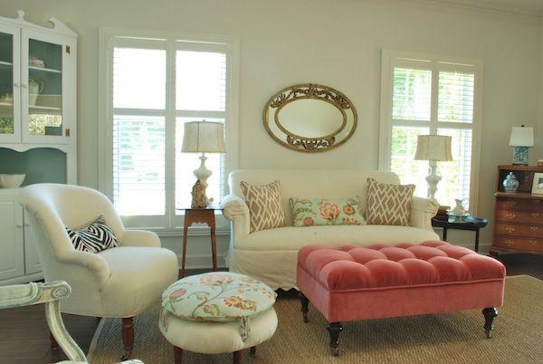 Incredible Sweet Chaos Every Girl Needs A Tufted Pink Velvet Ottoman Beatyapartments Chair Design Images Beatyapartmentscom