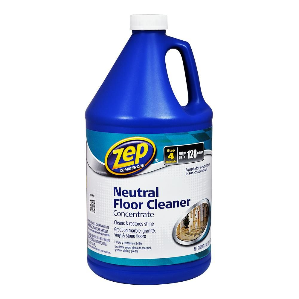 Zep 1 Gal Neutral Floor Cleaner Zuneut128 The Home Depot With