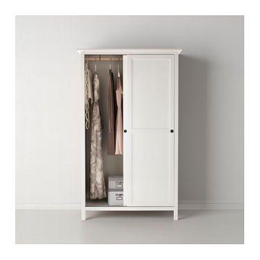 IKEA HEMNES Wardrobe With 2 Sliding Doors Hemnes WardrobeFree Standing