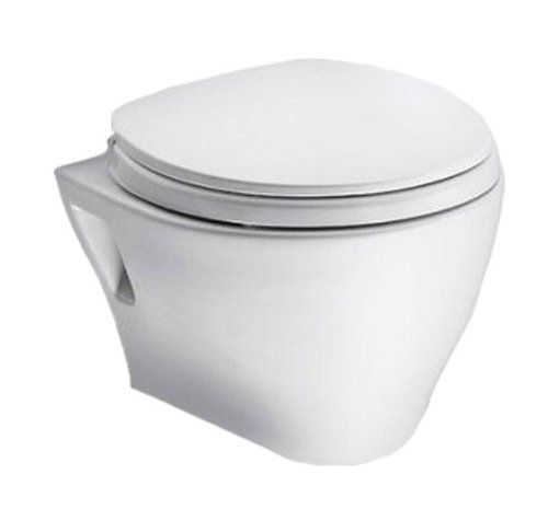 Toto Cwt418mfg 2no 01 Aquia Wall Hung Toilet And In Wall Tank System 1 6 Gpf 0 9 Gpf Cotton Toto 760 Http Wall Hung Toilet Wall Mounted Toilet Toilet Bowl