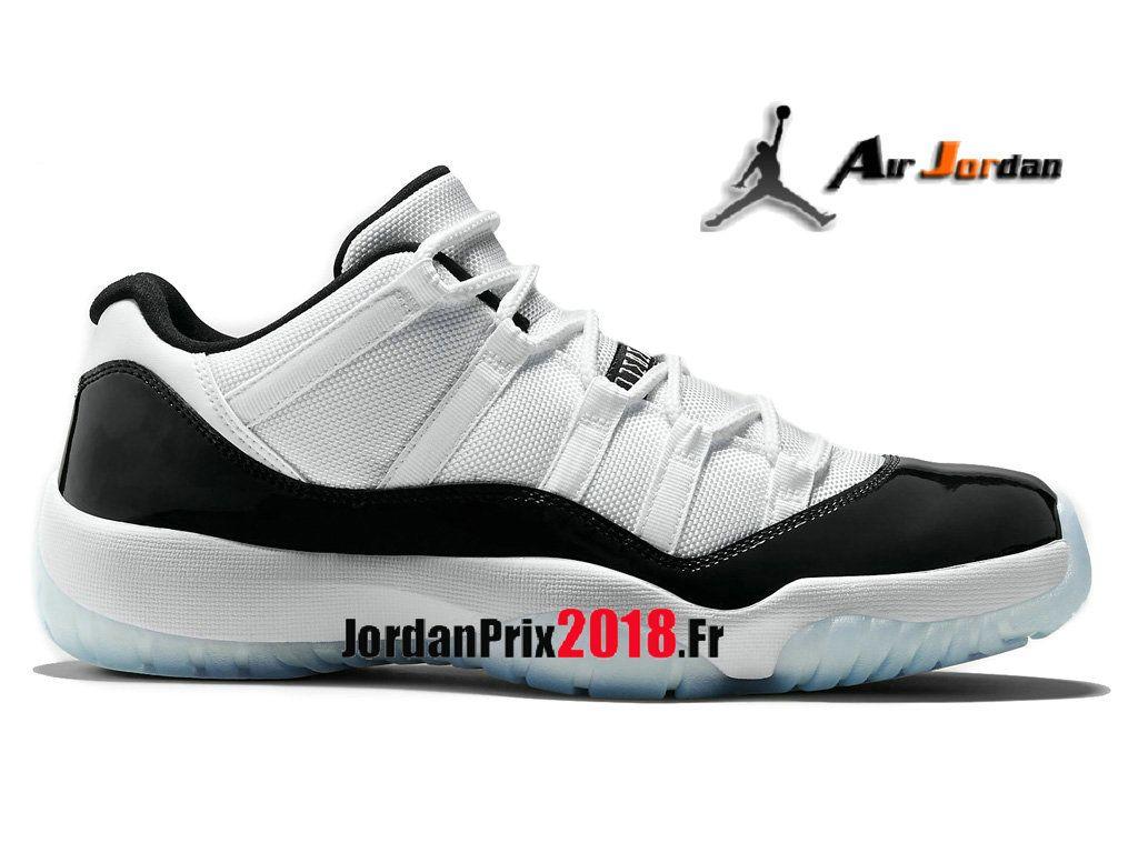 Chaussures Baskets Jordan Prix Pour Homme Air Jordan 11 Retro Low Concord  528895-153-