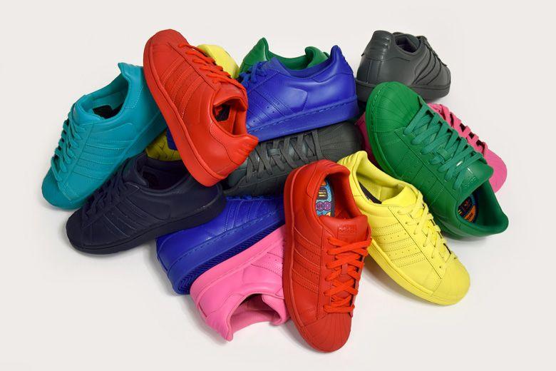 adidas Originals x Pharrell Amo Williams – Supercolor   Amo Pharrell y Zapatos fb2229