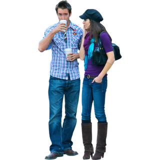Drinking Coffee People Png People Cutout People Poses