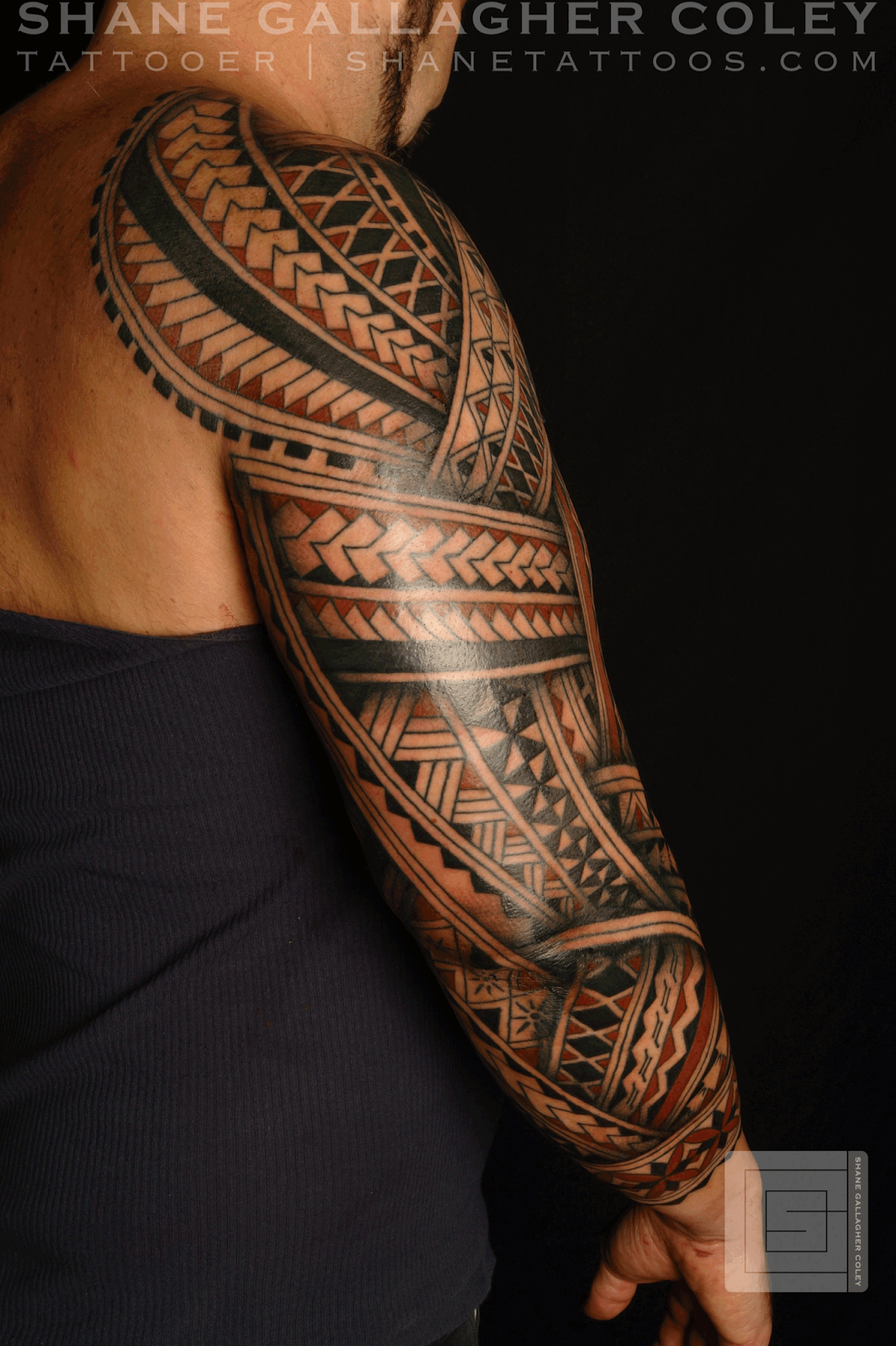 Modern Tribal Maori Tattoo: Email This BlogThis! Share To