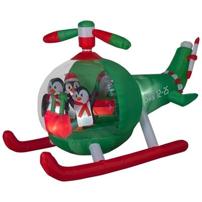 Holiday Living Outdoor Inflatable 113550 53-ft Animatronic Lighted