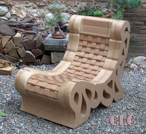 fauteuil en carton id es carton pinterest fauteuil. Black Bedroom Furniture Sets. Home Design Ideas