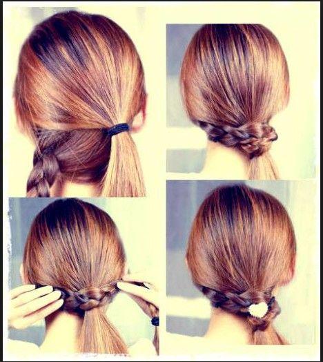 peinados faciles de hacer peinados Pinterest