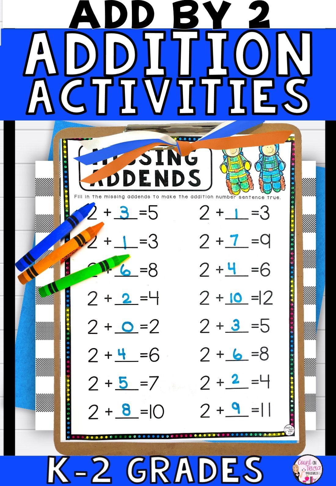 Addition Activities Kindergarten In 2021 Math Activities Elementary Teaching Addition Addition Activities Kindergarten Math addition games grade