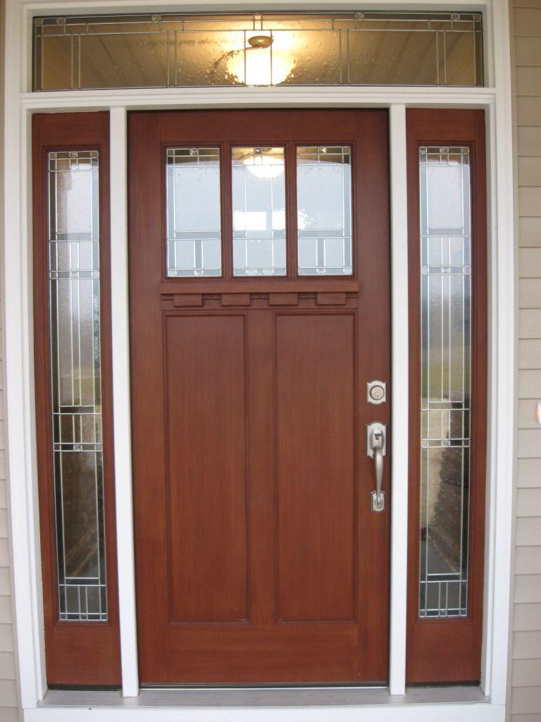 Exterior dazzling modern entry doors with wooden red heart doors