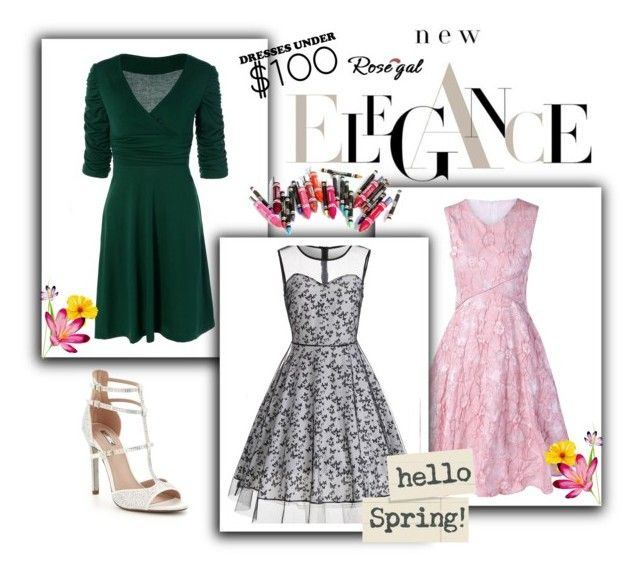 """""""Rosegal 61/90"""" by nermina-okanovic ❤ liked on Polyvore featuring Carvela, Clinique, vintage, wear, shop, Womens and rosegal"""