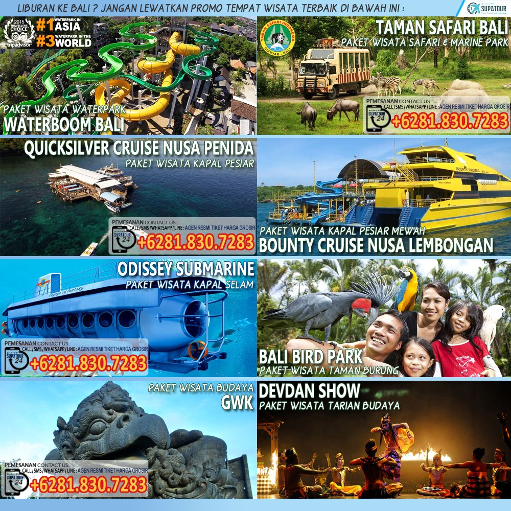 Liburan Ke Bali Jangan Lewatkan Promo Tempat Wisata