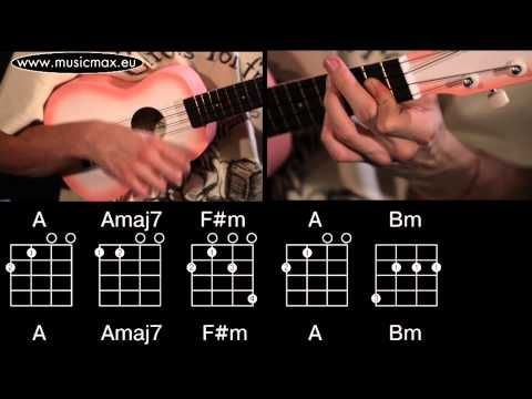 The Beatles While My Guitar Gently Weeps Ukulele Chords