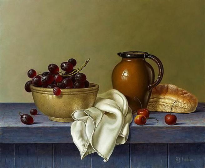 Roy Hodrien Realistic Still Life Oil Paintings With Images