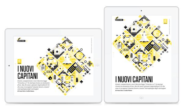 La Vita Nòva   Startup Issue by Marco Goran Romano, via Behance