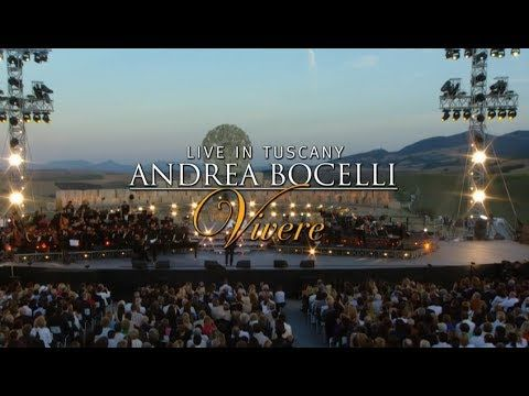 REJOICE! YOUR NEW WEALTH IS HERE GLOBAL http://wingsnetwork.com/potsofgold4u <3 Andrea Bocelli - Vivere Live In Tuscany (Complete) [Live]