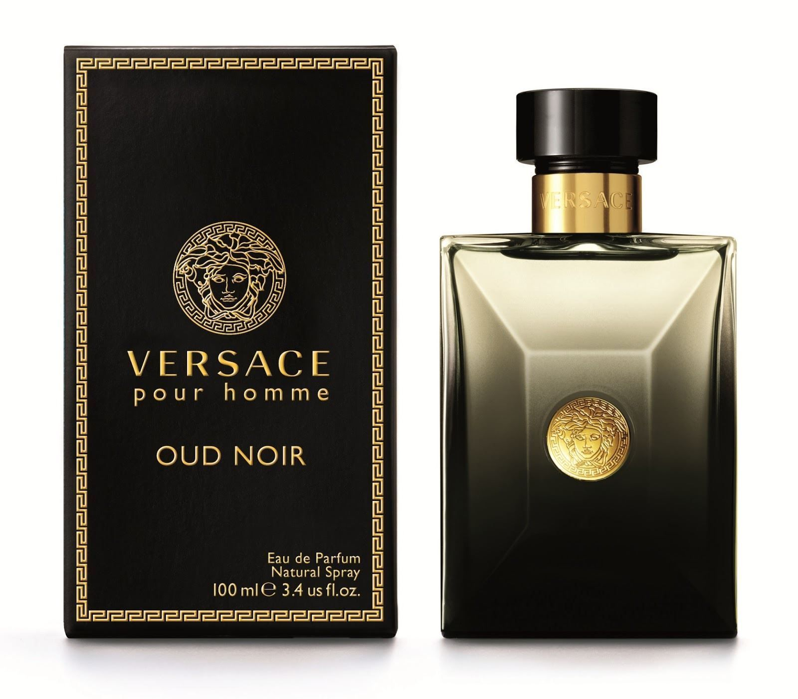 84.95   Versace Oud Noir Eau De Parfum For Men Spray 100 ml 3.4 fl.oz ❤   versace  noir  parfum  spray  fl.oz  acnefree  organic  spa  design  sexy  ... 08e811adde7