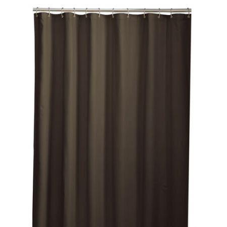 Maytex Mills Micro Fiber Liner Shower Curtains Fabric Shower Curtains Brown Shower Curtain Bathroom Shower Curtains