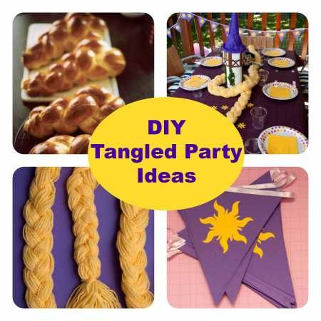Party Ideas  Tangled