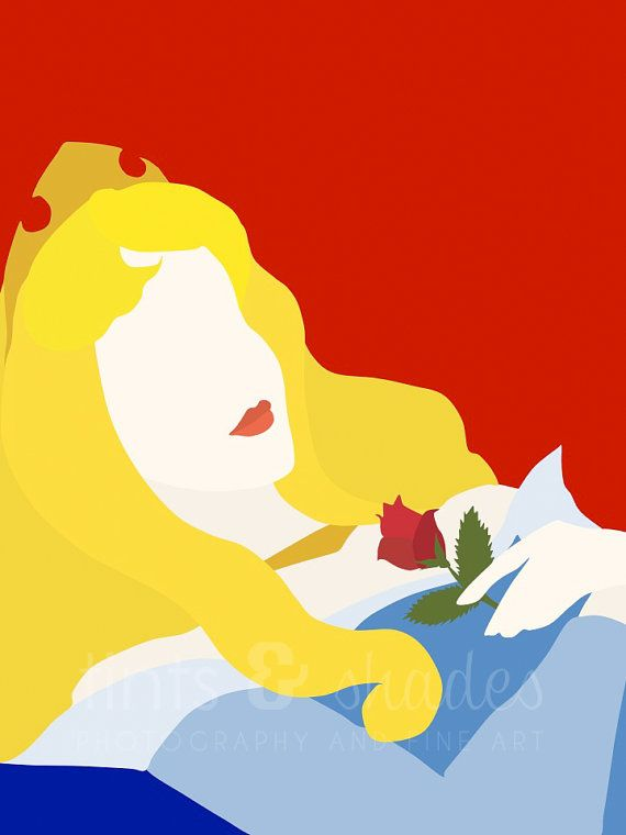sleeping beauty minimalist poster awesome aurora and poster