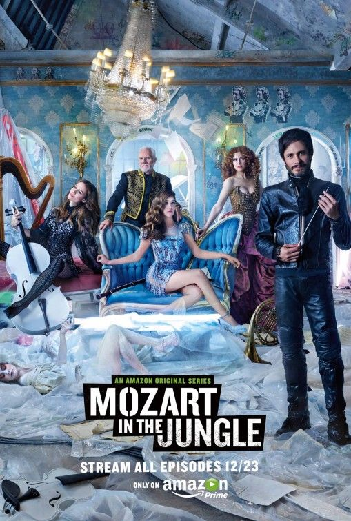 Mozart In The Jungle Movie Poster Mozart Amazon Instant Video