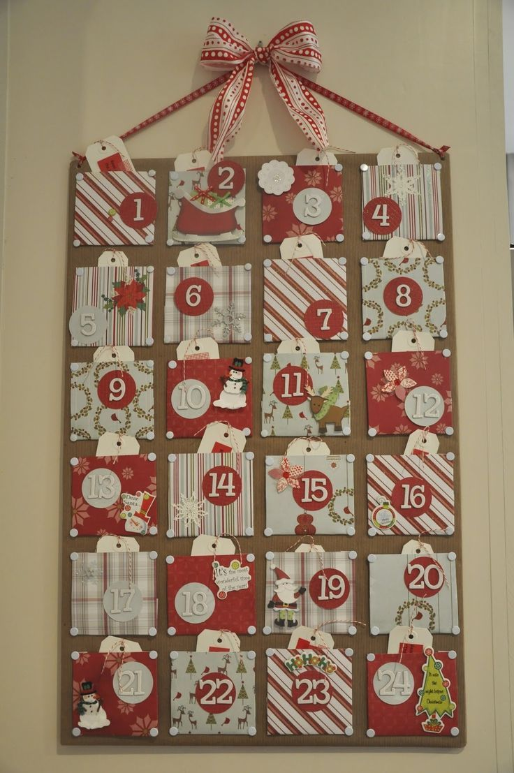 christmas diy advent calendar